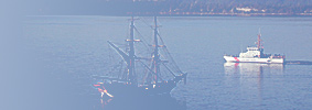 Lady Washington and Osprey